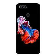 Ốp lưng cho điện thoại Huawei Honor 7X - 0222 FISHCOUPLE - Viền TPU dẻo - Hàng Chính Hãng thumbnail