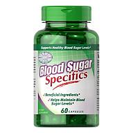 Thực Phẩm Chức Năng - Viên Uống Giảm Lượng Đường Trong Máu, Hỗ Trợ Giảm Các Biến Chứng Ở Người Tiểu Đường Blood Sugar Specifics (60 Viên) thumbnail
