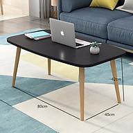 Bàn bên sofa bàn bệt bàn trà phong cách bắc âu , kiểu hàn sang trọng kích thước 80 x 41cm - Hàng chính hãng thumbnail