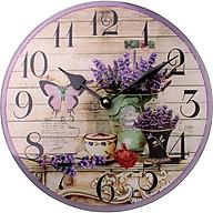 Đồng hồ treo tường Vintage Phong cách Châu Âu size 23cm DH54 thumbnail