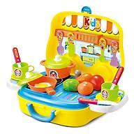 Đồ Chơi Nấu Ăn Hộp Vali Có Quai Xách Toyshouse - Màu Vàng thumbnail