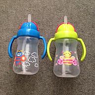 Bình Uống Nước 2 Tay Cầm Có Ống Hút Upass - 150ml thumbnail