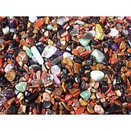 Đá thạch anh vụn nhiều màu ( 300 gram ) thumbnail