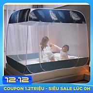 Màn ngủ tự bung gấp gọn, Mùng Chụp, Màn Chụp Tự Bung, Màn ngủ chống muỗi 1m8 x 2m, Dễ dàng tiện lợi, bền đẹp (Giao màu ngẫu nhiên) thumbnail