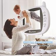 Máy Báo Khóc Baby Monitor màn hình Full HD 3,5inh mbk05, không dây, tần số sóng 2.4G thumbnail
