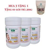 Combo 3 Hộp Bột Mầm Đậu Nành X5 Có Bổ Sung Collagen, Betaglucan (Tặng trà mầm ngũ cốc X5- 200gr) thumbnail