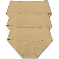 Combo 3 quần lót đúc su QCP22313, Màu da (từ 50kg trở xuống) thumbnail
