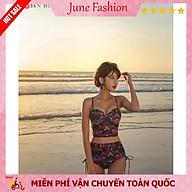 Bikini 2 Mảnh Hoa Quyến Rũ Đồ bơi nữ sang chảnh kín đáo trẻ trung thumbnail