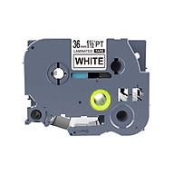 Băng nhãn in siêu bền, chống nước TZ2 TZe cỡ 9mm dài 8m dùng cho nhiều loại máy in Brother P-touch Tz2-261 Tz2-461 Tz2-561 Tz2-661 Tz2-761 thumbnail