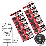 Pin Maxell Cmos CR2032 1 viên lẻ loại tốt thumbnail