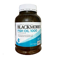 Dầu Cá Blackmores Oudourless Fish Oil 1000 Mg Hộp 400 Viên không tanh chính hãng Úc mẫu mới 2020 thumbnail