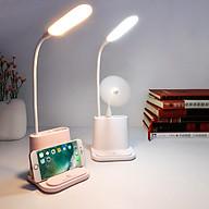 Đèn đọc sách - Đèn để bàn - Đèn đọc sách kèm giá đỡ điện thoại - Đèn học- Giao Màu Ngẫu Nhiên thumbnail