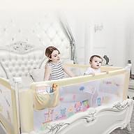 Thanh chắn giường cho bé an toàn mẫu 2019 Seedling BQ-03 cao 88cm nhé trượt lên trượt xuống giá 1 thanh thumbnail