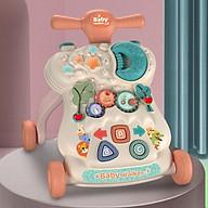 Xe tập đi cho bé cao cấp BABY-WALKERS bé từ 9 tháng có nhạc biến đổi 3 chức năng thumbnail