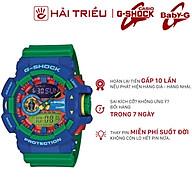 Đồng Hồ Nam Casio G-Shock-Ga-400-2Adr-Tròn Nam Ngũ Sắc Kim Hình Điện Tử Dcs Xanh (Kèm Hộp Có Mã) thumbnail