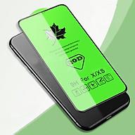 Kính Cường Lực 20D Cho IPHONE 11 Pro X XS Full Viền (Kính cường lực dán màn hình 20D cho iphone + Bộ vệ sinh màn hình) thumbnail