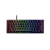 Razer Huntsman Mini Mechanical Keyboard Clicky Optical Switch 61 Keys Wired RGB Keyboard for PC Laptop Silver thumbnail