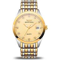 Đồng hồ nam dây sắt Brigada 3014G thumbnail
