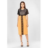 Đầm Thun Nhung Váy Bút Chì Viền Ren thumbnail