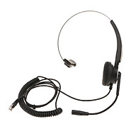 VH510 Office Call Centre Customer Service Headset Microphone RJ9 Connector thumbnail