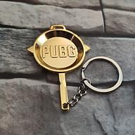 Móc Khóa Mô Hình Trong Game PUBG Mẫu Chảo Vàng thumbnail
