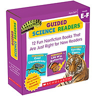 Guided Science Readers Levels E-F (Parent Pack) thumbnail