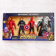 Đồ chơi siêu anh hùng, mô hình siêu nhân bằng nhựa cao cấp có đèn phát sáng DC045 thumbnail