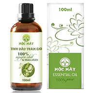 Tinh dầu Tràm Organic hữu cơ 100ml Mộc Mây - tinh dầu thiên nhiên nguyên chất 100% - dùng xông tắm ngừa cảm lạnh, trị côn trùng cắn đốt cho Bé, Trẻ sơ sinh và Trẻ nhỏ An toàn cho làn da nhạy cảm của Bé thumbnail