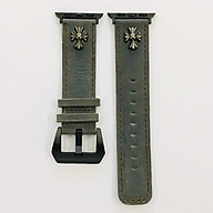 Dây đeo cho Apple Watch hiệu CAMYSE Leather Vintage - hàng nhập khẩu thumbnail