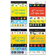 Sách Phát Triển Tư Duy Cho Bé - IQ ( bộ 4 cuốn, dành cho bé từ 5 tuổi ) thumbnail