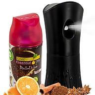 Bộ phun tinh dầu tự động Air Wick Mulled Wine 250ml QT06513 - cam, quế, hồi thumbnail