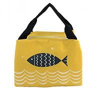Túi đựng hộp cơm giữ nhiệt TNTT0006- màu vàng thumbnail