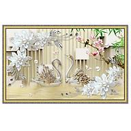 Tranh dán tường uyên ương trang trí phòng ngủ NewLuna_0053K thumbnail