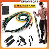 Bộ 5 Dây Ngũ Sắc Tập Full Body I Dụng Cụ Tập Gym Cao Cấp Kunosport ZN03 thumbnail