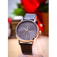Đồng hồ nữ Julius Hàn Quốc JA-1159 dây da có lịch thumbnail