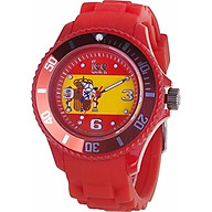Ice World Edition Multi-Color Dial Silicone Strap Unisex Watch thumbnail