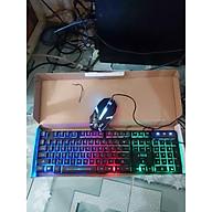 Bộ bàn phím kèm chuột có đèn Led đổi màu cực đẹp - Hàng Chính Hãng thumbnail