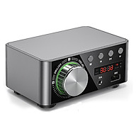 HIFI BT5.0 Digital Amplifier Mini Stereo Audio Amp 100W Dual Channel Sound Power Audio Receiver Stereo AMP USB AUX for thumbnail