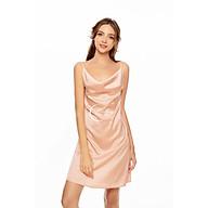 Dreamy VS13 Váy Ngủ Lụa Cao Cấp Dáng Suông Cổ Đổ Thanh Lịch Quyến Rũ thumbnail