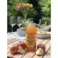 [Tặng túi vải bỏ túi] Dấm táo Bragg Organic bổ sung lợi khuẩn thumbnail