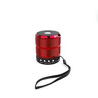 Loa Bluetooth Mini GUTEK WS887, Loa Nghe Nhạc Cầm Tay Không Dây Nhỏ Gọn, Âm Thanh Cực Hay, Bass Trầm Ấm Có Dây Treo Cắm Thẻ Nhớ, Cổng 3.5, USB, Đài FM, Nhiều Màu Sắc - Hàng Chính Hãng thumbnail