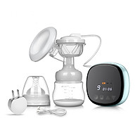 Máy massage vú, hút sữa bằng điện đơn đạt chuẩn với 21 cấp độ khác nhau phù hợp với các mẹ sau sinh (xanh) thumbnail
