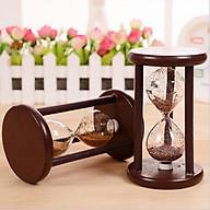 Đồng hồ cát khung gỗ để bàn trang trí thumbnail