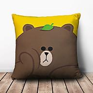 Gối Vuông Gấu Brown Suy Tư GVCT490 (36 x 36 cm) thumbnail