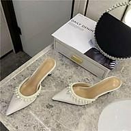 sục nữ cao gót 7cm quai ngọc điệu đà LC10 thumbnail