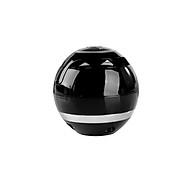 New Gift Wireless Bluetooth Small Speaker Round Subwoofer Mini Speaker black thumbnail
