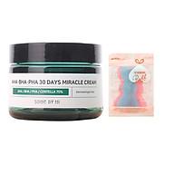 Kem Dươ ng Gia m Mu n Some By Mi AHA-BHA-PHA 30 Days Miracle Cream 50ml tặng kèm miếng dán tóc thumbnail