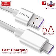 Dây sạc USB Type C sạc nhanh Qualcomm Quick Charge cho Samsung Galaxy Note 8 S8 S8 Plus 9 9 Plus và các máy có cổng Type-C - Hàng Chính Hãng thumbnail