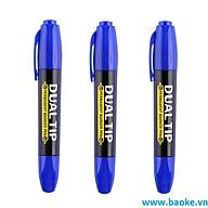 Combo 3 Bút lông dầu 2 đầu MP2918 màu xanh thumbnail