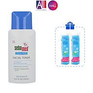 Nước hoa hồng se khít lỗ chân lông Sebamed pH 5.5 Clear Face Facial Toner 150ml TẶNG bông tẩy trang Jomi (Nhập khẩu) thumbnail